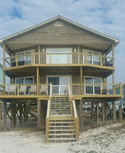 Photo for STUNNING 3-BR GULF-FRONT HOME IN QUIET FT. MORGAN!