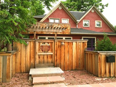 Photo for CHARMING 1900 FARMHOUSE IN A WONDERFUL NEIGHBORHOOD in NORTH BOULDER