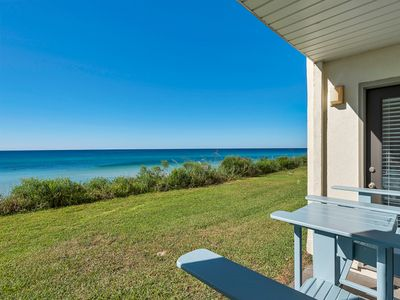 Photo for Beautiful Gulf-Front Condo only minutes From Famous Seaside!!