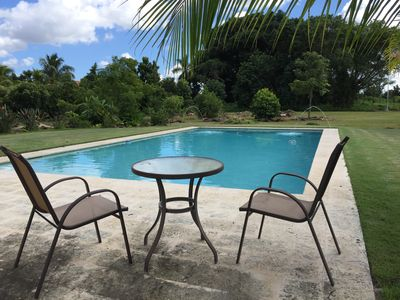 Photo for Breathtaking Luxury Tropical Country Estate; Heated Pool; 30 Minutes from Miami