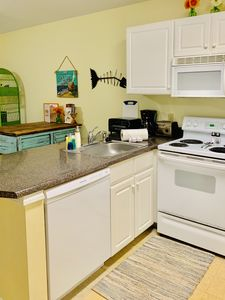 Bright Fresh Kitchen with everything you need!