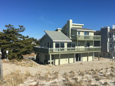Photo for Oceanfront - Best Value on LBI, quaint house in the Dunes