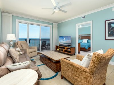 Photo for Gateway Grand 707 - Luxurious 3 Bedroom/3 Bath Ocean-front Condo!