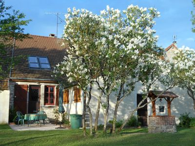 Photo for Entire Comfortable Village Home in Burgundy's Wine Country near Beaune