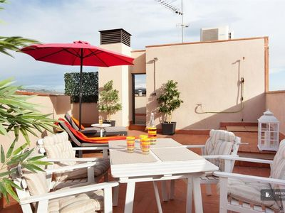 Photo for Friendly Rentals The Sunny Attic apartment in Barcelona