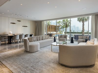 Photo for Ultra-Modern Sea View Villa w/ Private Pool in FIVE Palm Jumeirah