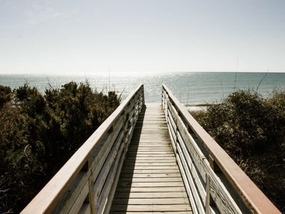 Photo for Just steps to the Beach!  Oceanfront with a Beautiful View