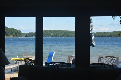 View from the living room.