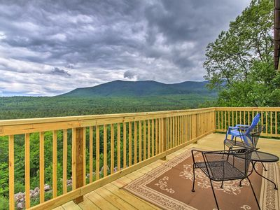 Photo for North Conway Family Condo w/ 3 Decks & Mtn Views!