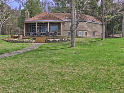 Photo for Private Cottage on Lake Charlevoix in Boyne City - Close to Young State Park