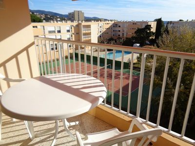 Photo for Nice apartment with sea view - Le Lavandou