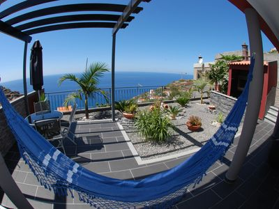 Photo for Modern house well equipped with magnificent views of the sea, 2 km from the beach