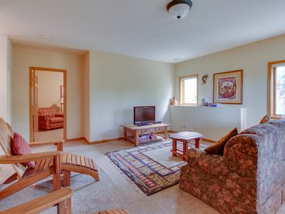 Photo for NEW LISTING! Cozy home in quiet location near town, hiking, skiing & more