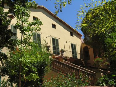 Photo for Manor house garden of 4500 m2. Pool and private barbecue. Near Tarragona