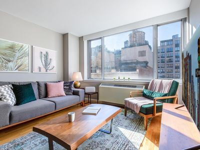 Photo for Stunning Central Chelsea 1BR w/ Gym + Doorman by Blueground