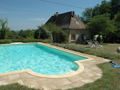 Photo for Family house + gite + pool, 2 x families (golf + good food + horseriding)