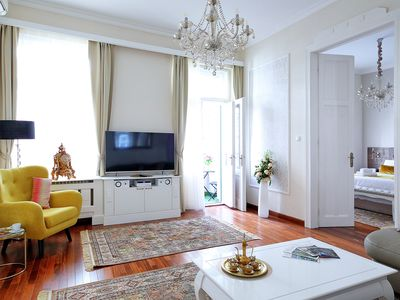 Photo for NY10 Classic Deco Suite 2BR, 2BA, WiFi, AC on 94 sq.m in the Old Jewish Quarter