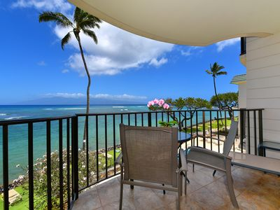 Photo for Great Deals! Beautiful Blue Direct Ocean Views & Incredible West Maui Location!