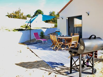 Photo for New charming house close by the beach with spa, ideal in family