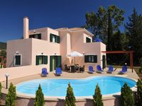 Lovely villa and location. The trees have grown up, since the photos and they made the pool total...