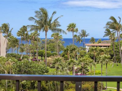 Photo for Kamaole Sands 2 bdrm with partial ocean views at Kamaole Sands in South Kihei. 5-406