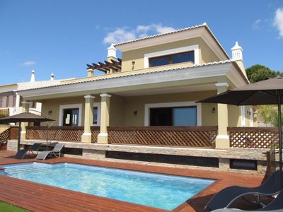 Photo for Luxury villa with nice views, private pool, garden and big games saloon