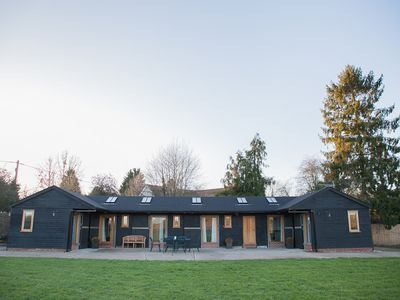 Photo for Contemporary stable conversion set in two acres of rural Suffolk