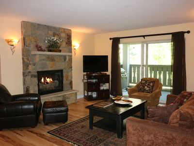 Photo for Vail Village - Three Bedroom Condominium In Vail Village With Pool And Hot Tub