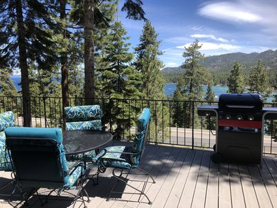 Photo for 1 Bedroom Studio w/  Lake View & Large Private Deck, BBQ