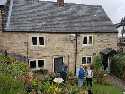 Photo for Beautiful 2 bedroomed stone cottage in the centre of Crich