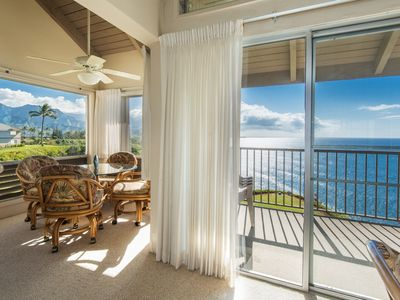 Photo for Spectacular oceanfront & Bali Hai views from the bluffs above Hideaways Beach