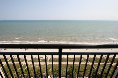 Oceanfront Balcony View!!! Amazing!