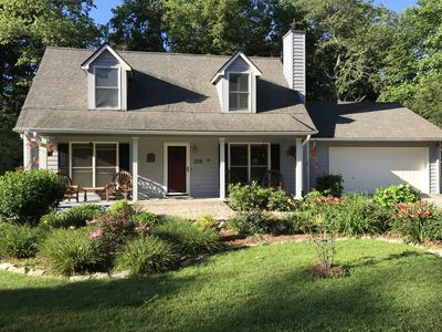 Photo for In-town Gem One Mile To Town, clean with new furnishings with multiple decks