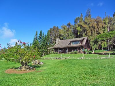 Kohala Lodge Vacation Home offers both Mt and Ocean Experience...