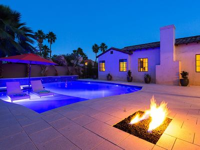 Photo for Kara Mia, Exquisite Palm Springs Spanish Hacienda - Pool Heat Included
