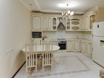Photo for Apartment on Dostyk with 3 bedroom