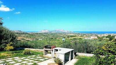 Photo for Villa Annalisa with sea view and pool just steps between Palermo and Cefalù