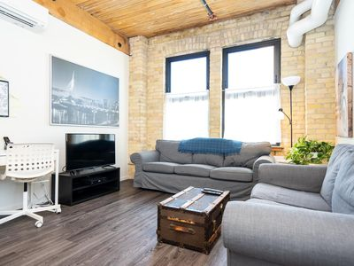 Photo for Fully furnished condo complimented with old-world charm and surrounded by modern amenities