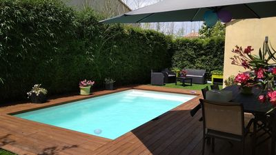 Photo for Bastide villa of 125 m² with pool in Aigues-mortes, France
