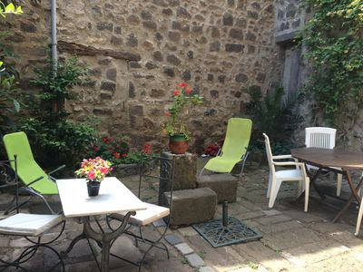 Photo for Agde Charming 17c Detached House with Private Courtyard /Garden Minutes to Beach