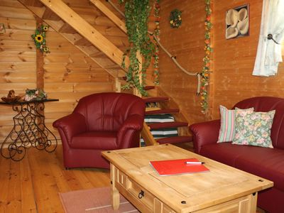 Photo for cozy wooden house, about 80sqm with fenced garden - dogs willk. - WLAN incl