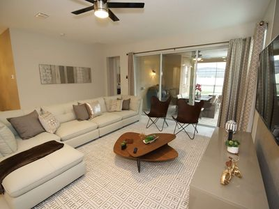 Photo for Disney On Budget - Solara Resort - Feature Packed Cozy 7 Beds 6 Baths  Pool Villa - 5 Miles To Disney