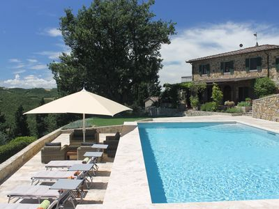 Photo for Tuscany Stone Villa With Spectacular View