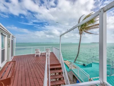 Photo for Ocean Perch, Dock, Open Water Views, 80' Heated Pool, Tennis, 20 Min to Key West