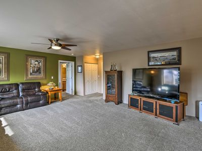 Photo for Hillside Anchorage Home by Hiking & Biking Trails!