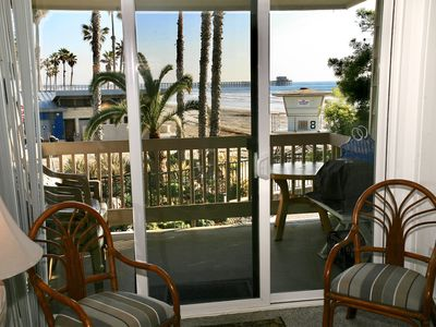 Photo for **New Listing**  Charming UPPER BEACHFRONT COTTAGE-Breathtaking OCEAN VIEWS-D8-Dolphin View Cottage