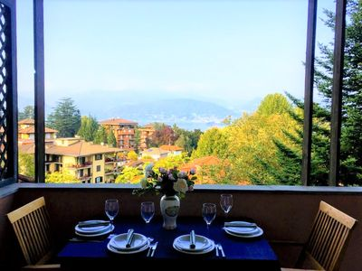 Photo for Marchese apartment in Stresa with lake view and big terraces