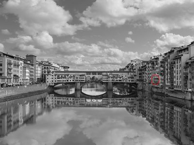 Prime location, comfort and a stunning view of Ponte Vecchio!