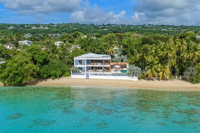 The Dream Villa Barbados - View of Sea from Pool