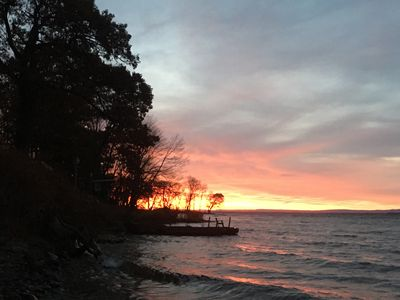 Photo for Sunrise to Sunset Lakehouse Rental       Our Waterfront Happy Place!